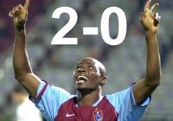 Trabzonspor'a angarya galibiyet!
