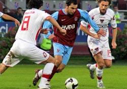 Trabzonspor şansını kullanamadı