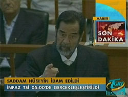 Saddam idam edildi VİDEO