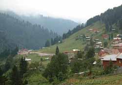 Kaplıca merkezi Ayder