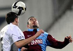 Trabzonspor Beşiktaş'la berabere