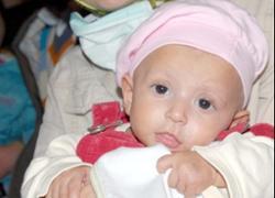 4 aylık minik Berrak'ın acı hayatı