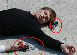 Rize oyuncak silahla kurtarıldı
