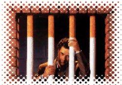 Camide sigara içen kişi tutuklandı
