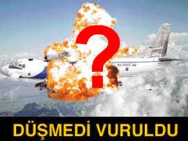 Düşen uçağı ABD vurdu iddiası!