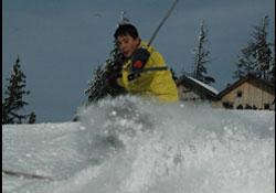 Artvin'de kayak sporu gelişiyor
