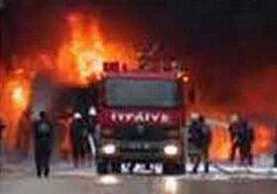 Çayeli'nde korkutan yangın