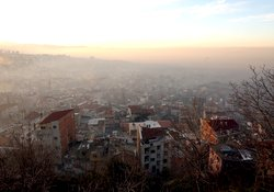 Trabzon'un üstündeki karabulutlar!