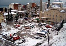 D.Karadeniz kar ile uyandı