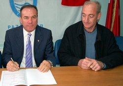 Pazarspor'da Birinci imzayı attı