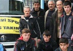 Arhavi Boks Takımı Mersin'e gitti