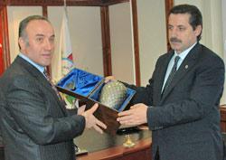 Devlet Bakanı Faruk Çelik Rize'de
