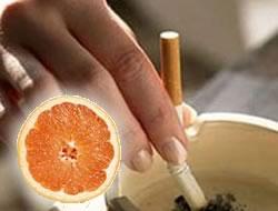 Greyfurt ile sigaraya son verin!