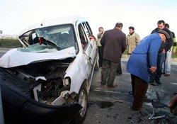 Trabzonda kaza: 4 yaralı