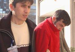 Taş atan genç tutuklandı