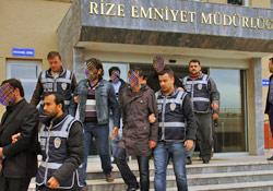 Rize'de silah operasyonu:11 gözaltı