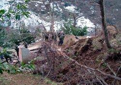 Trabzon'da heyelan: 2 ölü 5 yaralı