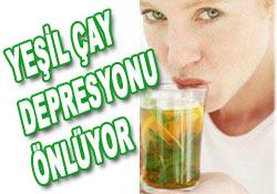Yeşil çay depresyonu önlüyor