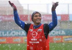 Gutierrez, ilk karı Trabzon'da gördü
