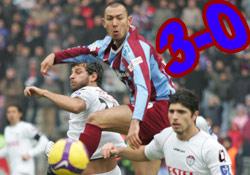 Trabzon'un İstanbul çıkarması:3-0