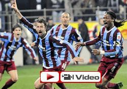 Trabzon Rize'de tek attı, tur atladı