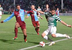 Trabzonspor son nefeste kurtardı