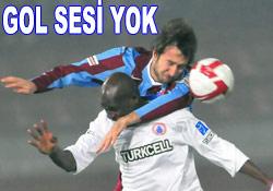 Trabzon fırtınasına İBB freni: 0-0