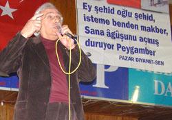 Bahadıroğlu Pazar'da konuşacak