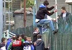 Çayeli-Kalkandere maçında olay