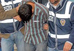 Rize'de sokak satıcıları tutuklandı