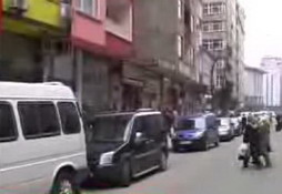 Rize'de trafik hala sorun! İZLE