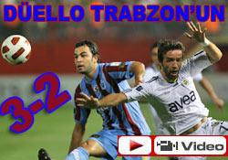 Trabzonspor engel tanımıyor: 3-2