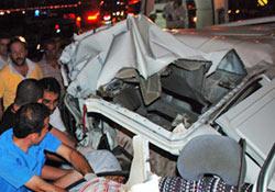 Çayeli'nde kaza: 2 ölü 1 ağır yaralı