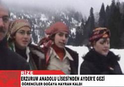 Erzurumlular'ın keyifli Ayder gezisi