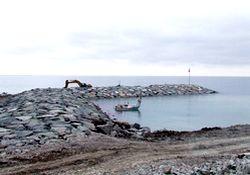 Fındıklı'da vekile liman tepkisi