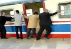 Treni iten ilk devletiz! İZLE