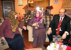 Halil Bakırcı'ya yaşlı anne duası