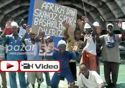 Afrika'dan Rize'ye ilginç destek!