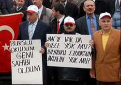 Rize'de öğretmen protestosu