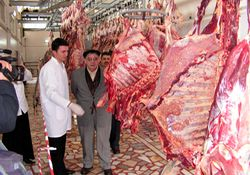 Rize'de hastalıklı et uyarısı. İZLE