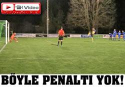 Böyle penaltı atışı görülmedi!