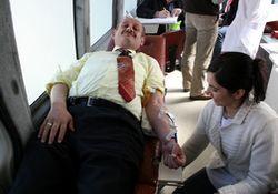 Rize'de kan bağışı kampanyası