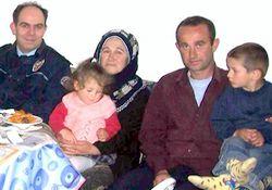 Şehit polis ailesine ziyaret