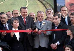 Karadeniz sahil yolu resmen açıldı