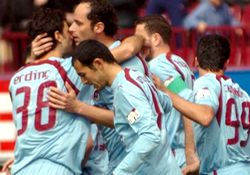 Düellonun galibi Trabzonspor