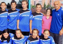 Rize'nin bayan topçuları Trabzon'da