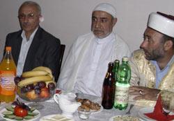 Karal'dan Batum'da kardeşlik iftarı