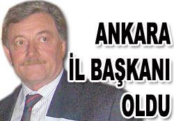 Ankara İl Başkanı Rize'den atandı