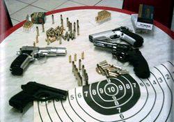 Kaçak silah atölyesine baskın