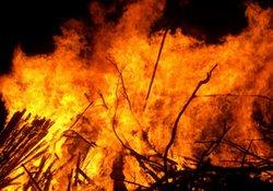 6 yaşındaki çocuk, yangın kurbanı